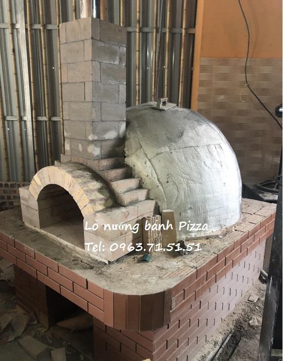 thi công lắp đặt lò nướng bánh pizza