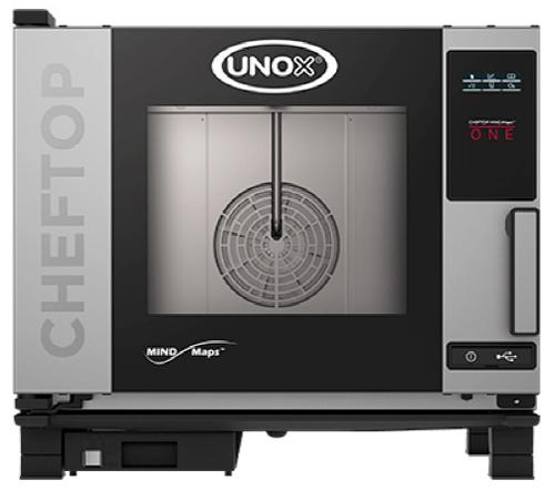 Lò hấp nướng đa năng UNOX, XEVC-0511-E1R, dòng 5 khay GN 1/1