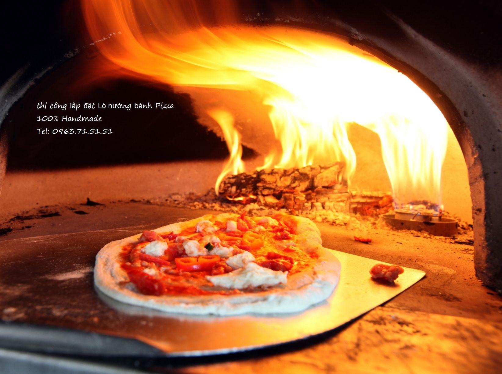 Tư vấn và lắp đặt lò nướng bánh Pizza Công nghiệp