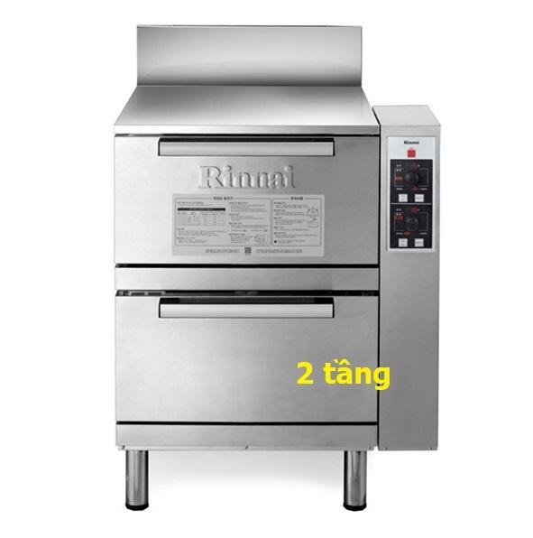 Tủ nấu cơm 2 tầng Rinnai