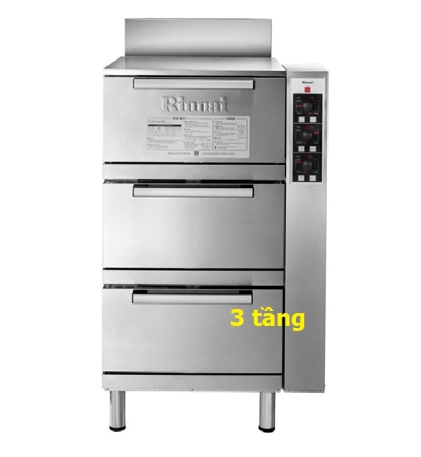 Tủ nấu cơm Gas Rinnai 3 tầng