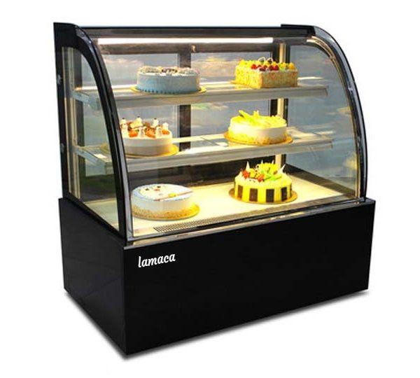 Tủ trưng bày bánh kính cong loại 1,5M