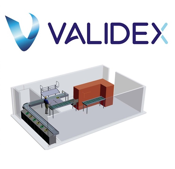 Băng tải khay ăn Validex
