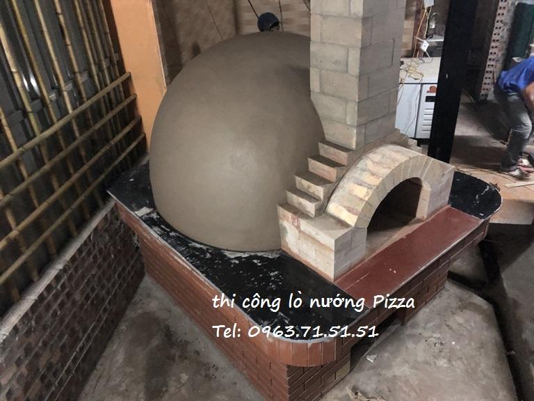 thiết kế lò nướng bánh pizza