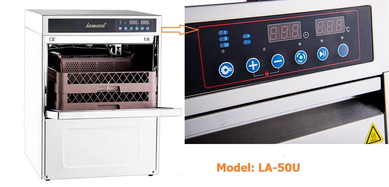 máy rửa chén lamaca la-50u